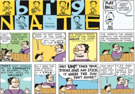 Big Nate comic strip Dated May 24 2015