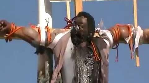 Crucifixion Of Spy In Yemen