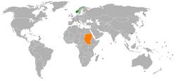 Norway Sudan Locator