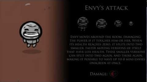 Binding of Isaac 7 Deadly Sins - Envy