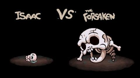 "The Binding of Isaac Afterbirth ""The Forsaken"" boss fight"