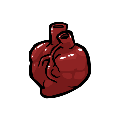 Mask of Infamy's heart.