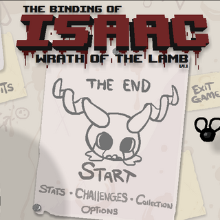 Menu screen after defeating Triachnid prior to 1.15.