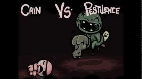 Cain vs. Pestilence - TBoI 1