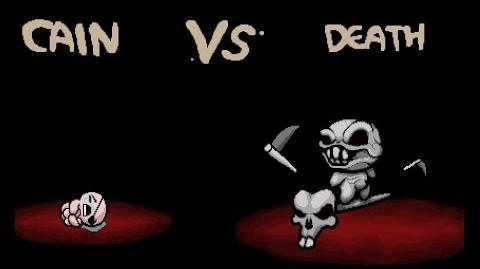 "The Binding of Isaac Rebirth ""Death"" boss fight"