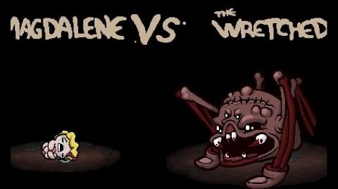"The Binding of Isaac Rebirth ""The Wretched"" boss"