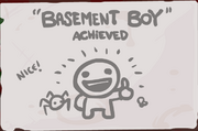 Basement Boy Achievement