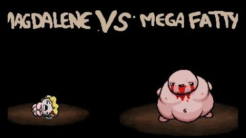 "The Binding of Isaac Rebirth ""Mega Fatty"" boss"