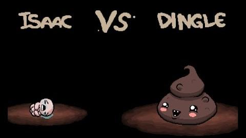 "The Binding of Isaac Rebirth ""Dingle"" boss"