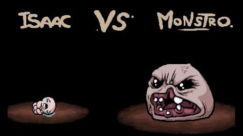 "The Binding of Isaac Rebirth ""Monstro"" boss"
