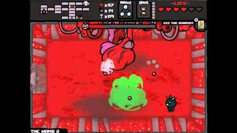 The Binding of Isaac - Unlockable Boss Moms Heart