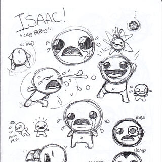 Isaac in the <a href=