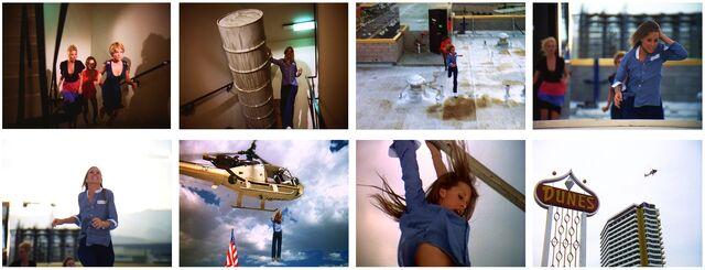 Fembots in Vegas - Jaime Flying Away Sequence
