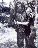 Lindsay n bigfoot
