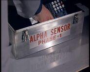 Alpha sensor