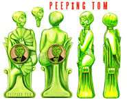 Peeping Tom Bottle