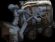 Bulldozer Multiplayer Model Render Angle