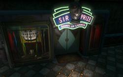 Sir Prize Entrance