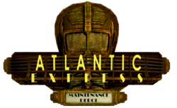 Maintenance Depot Atlantic Express Sign