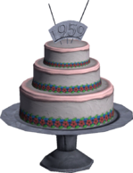 Kashmir Cake Multiplayer Model Render