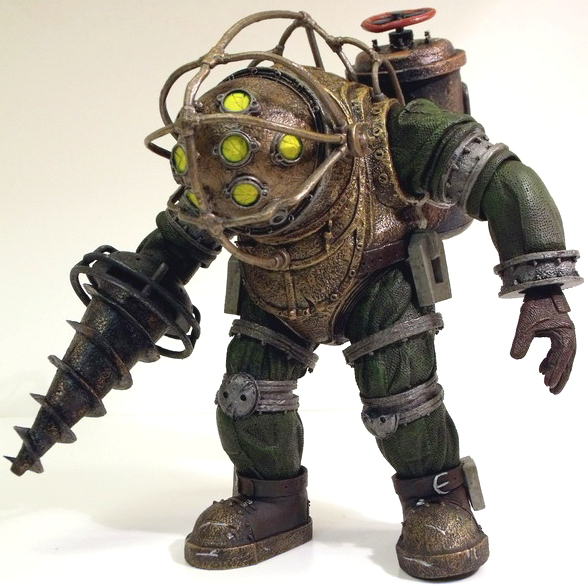 Image bioshock wiki fandom for Big daddy s antiques