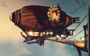 BioShock Infinite - Soldier's Field - First Lady's Aerodrome - The First Lady Airship-angled f0786