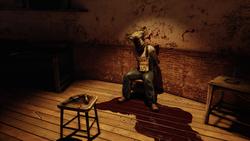 Dead Body in Lighthouse