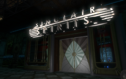 Sinclair Spirits Entrance