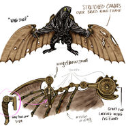 Songbird Wings Concept Art