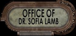 Office of Sofia Lamb sign