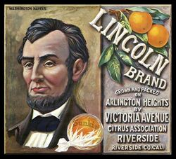 Vintage ad-lincoln brand