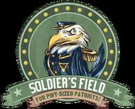 Soldier's Field Earnest Eagle sign