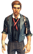 Booker DeWitt Transparent