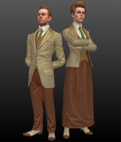 File:Bioshock infinite the lutece twins by mrgameboy2013-d64lhy5.png