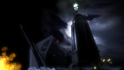 B1 Lighthouse Scene