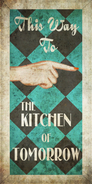 The Kitchen Of Tomorrow Poster