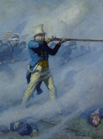 File:John Burns of Gettysburg Painting.jpeg