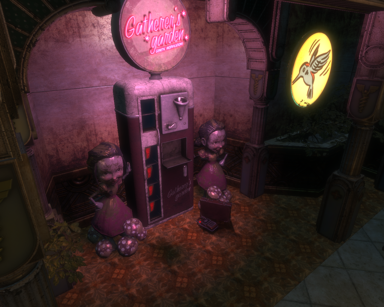 gatherer 39 s vulnerability bioshock wiki fandom powered