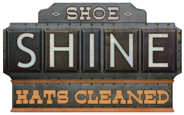 File:Shoe Shine Hats Cleaned sign.png
