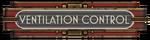 Ventilation Control Sign