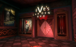 Eve's Garden Entrance