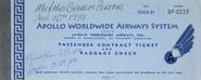 Apollo ticket book