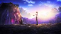 Rentaro prepares to kill Kayo