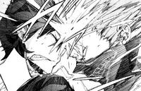 Shougen headbutts Rentaro