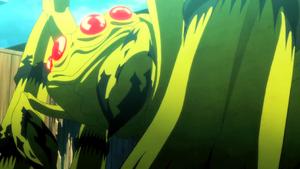 Sumiaki as a Spider Gastrea