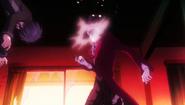 Rentaro kicks Kagetane