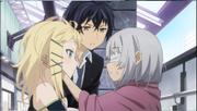 Rentaro and Tina Meet the Blind Girl