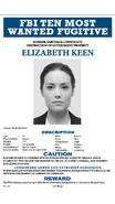 Elizabeth Keen Wanted Poster
