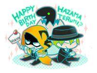 Hazama, Yūki Terumi (Birthday Illustration, 2014, 01)