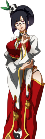 File:Litchi Faye-Ling (Story Mode Artwork, Normal, Alternate Outfit).png